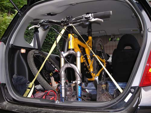 Small Hatchback I Can Get A Mountain Bike In With Only The