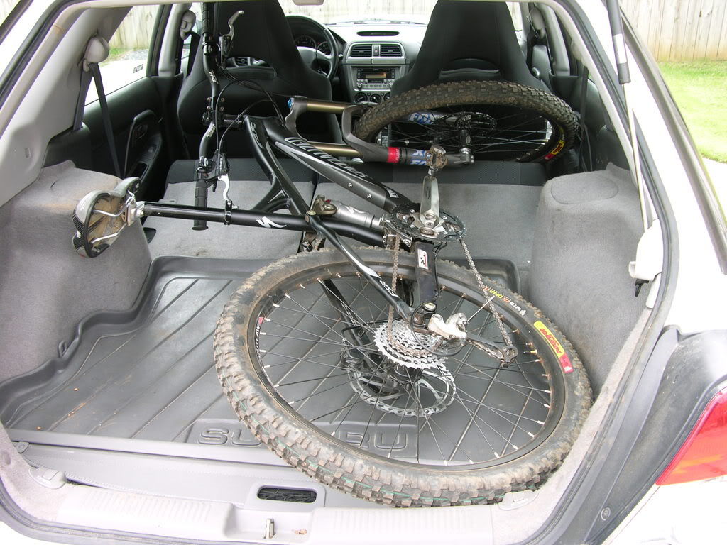 Does Your Mountain Bike Fit Travel In Your Car Mtbr Com
