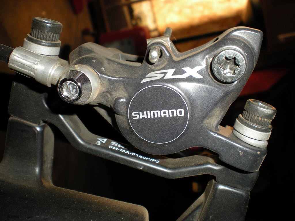 Shimano SLX - intermittent noise from front brake- Mtbr com