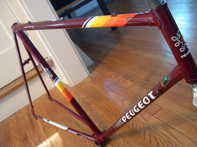 my new to me peugeot vintage road bike- mtbr