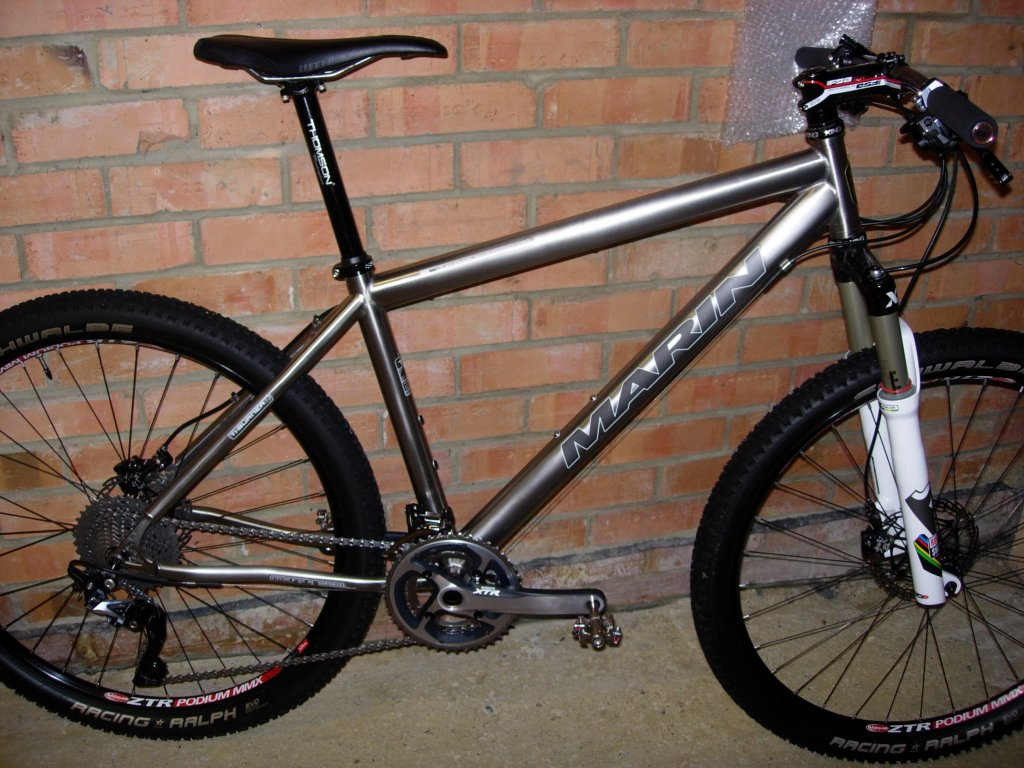 My Marin Team Titanium - Help required to save weight?-dscn4023.jpg
