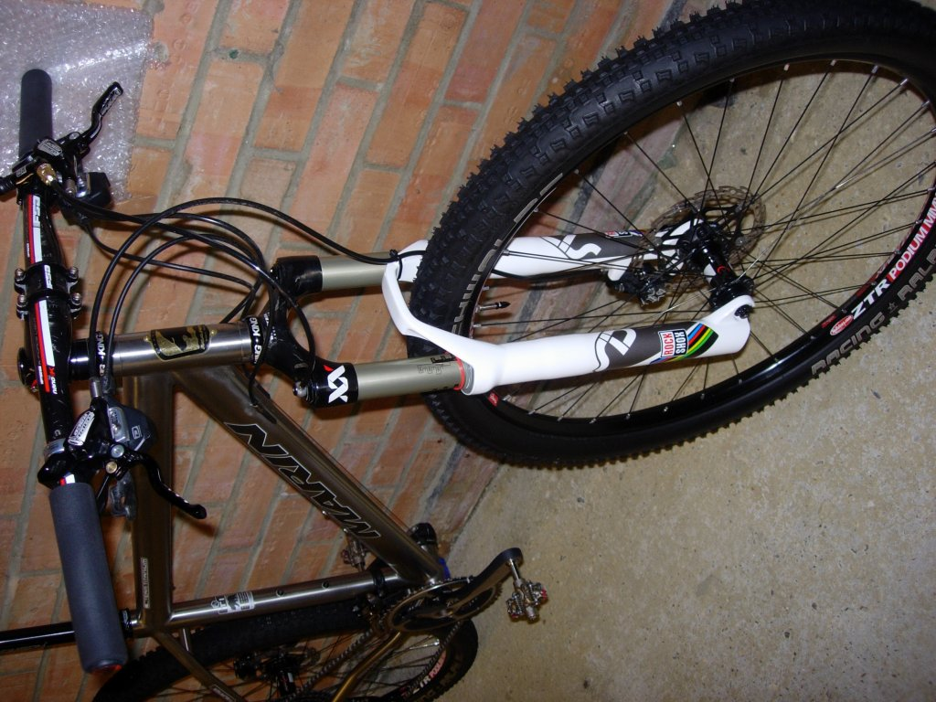 My Marin Team Titanium - Help required to save weight?-dscn4025.jpg