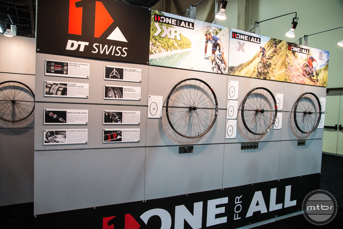 DT Swiss Interbike 2016 Booth
