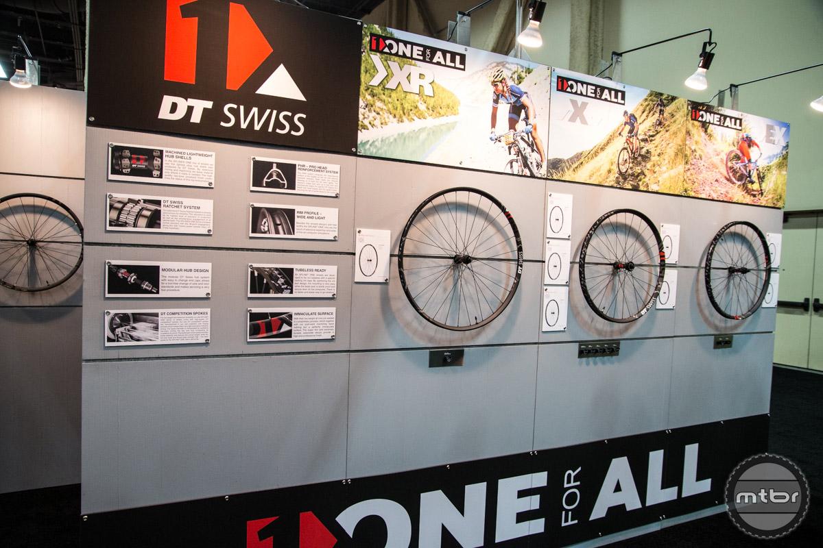 DT Swiss Interbike 2016 Booth