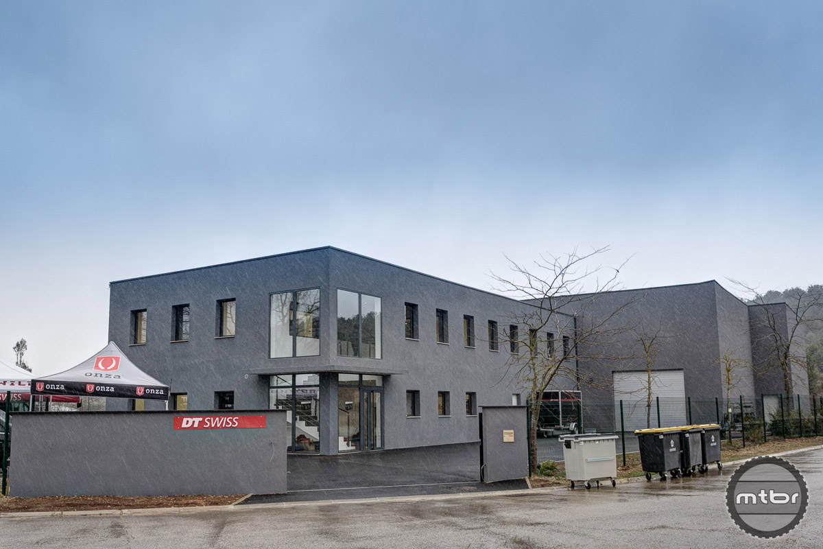 The brand new DT Swiss distribution center in the south of France. Photo by Jeroen Tiggelman