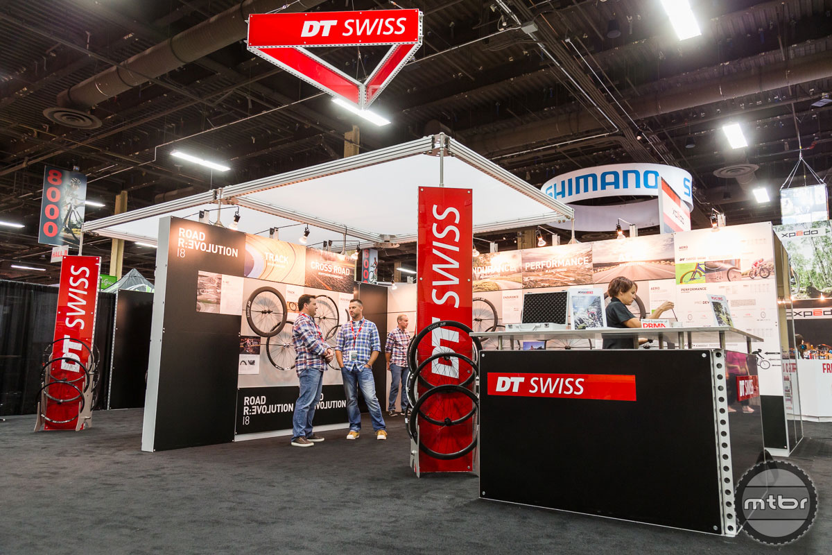 DT Swiss Interbike 2017 Booth