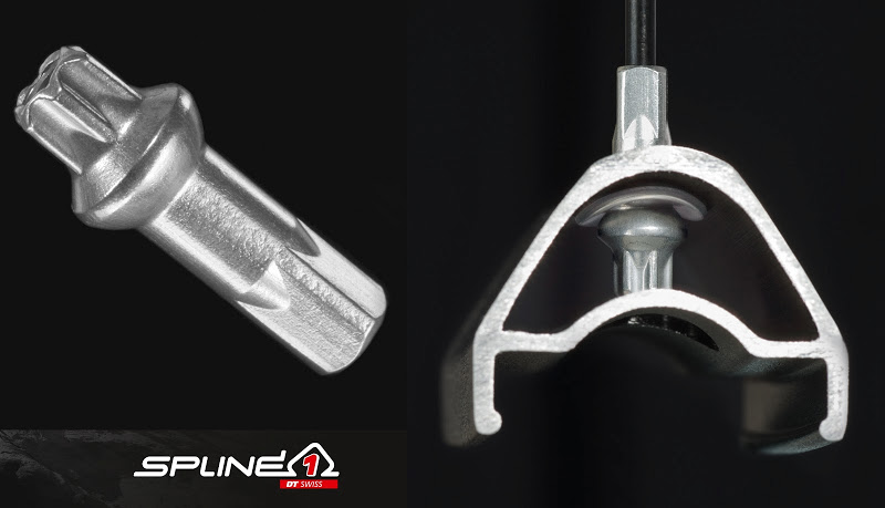 DT Swiss - Spline 1 Wheel PHR System and Sqourx nipple