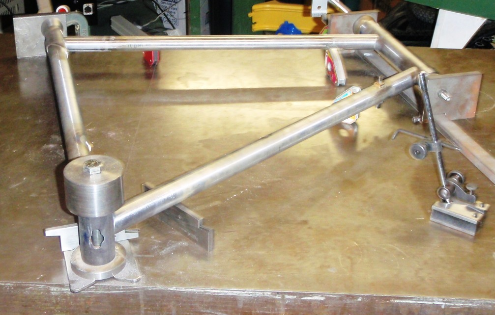 Frame jig - homemade?- Mtbr.com