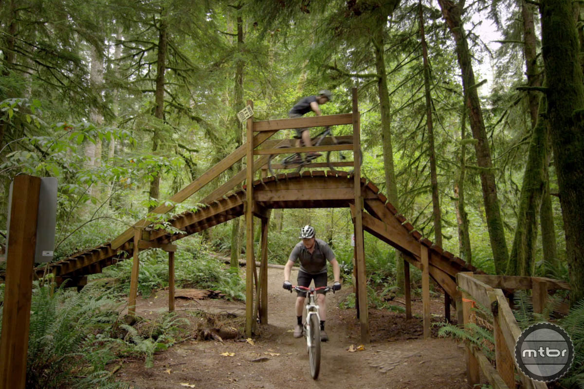 There's a trail built just for you at Duthie Hill Bike Park.