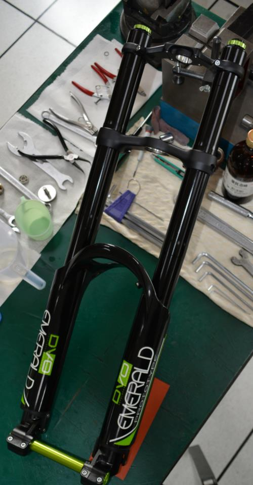 Real world images of DVO Jade coil shock, and Black Emerald Fork-dvo-emerald-fork.jpg