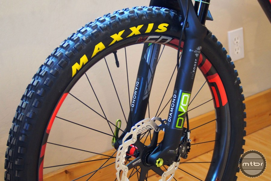 Best of 2017: Maxxis Minion DHF/DHR II Tires