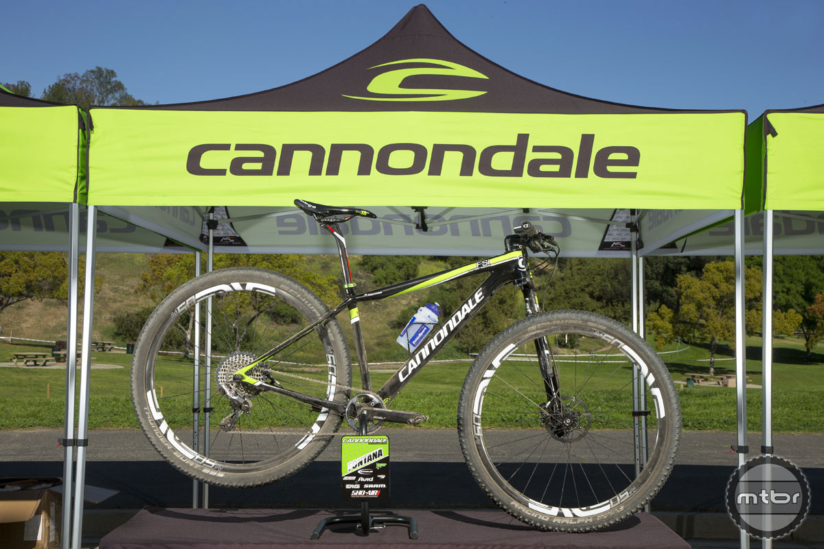 Marco Fontana's Cannondale F-Si Carbon Team