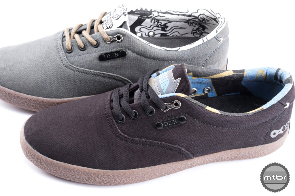 The Shift line of footwear is an extension from DZR's existing offerings of the original clipless urban bike sneakers.