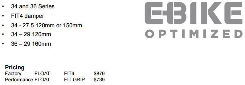 E-bike Models and Pricing