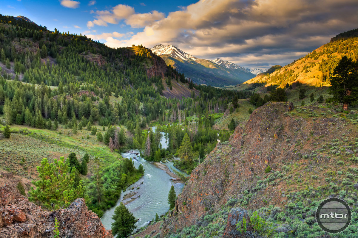 These pristine views of the East Fork of the Salmon River would be off limits if a new Wilderness provision passes in Idaho. Photo by Ed Cannady