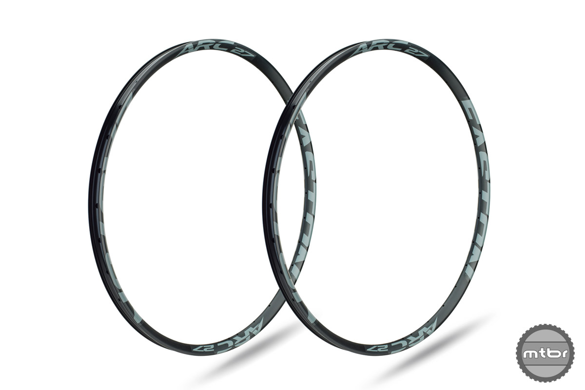 """The 27.5"""" rim weighs 425g for the 24mm version, 475g for the 27mm, and 490g for the 30mm."""
