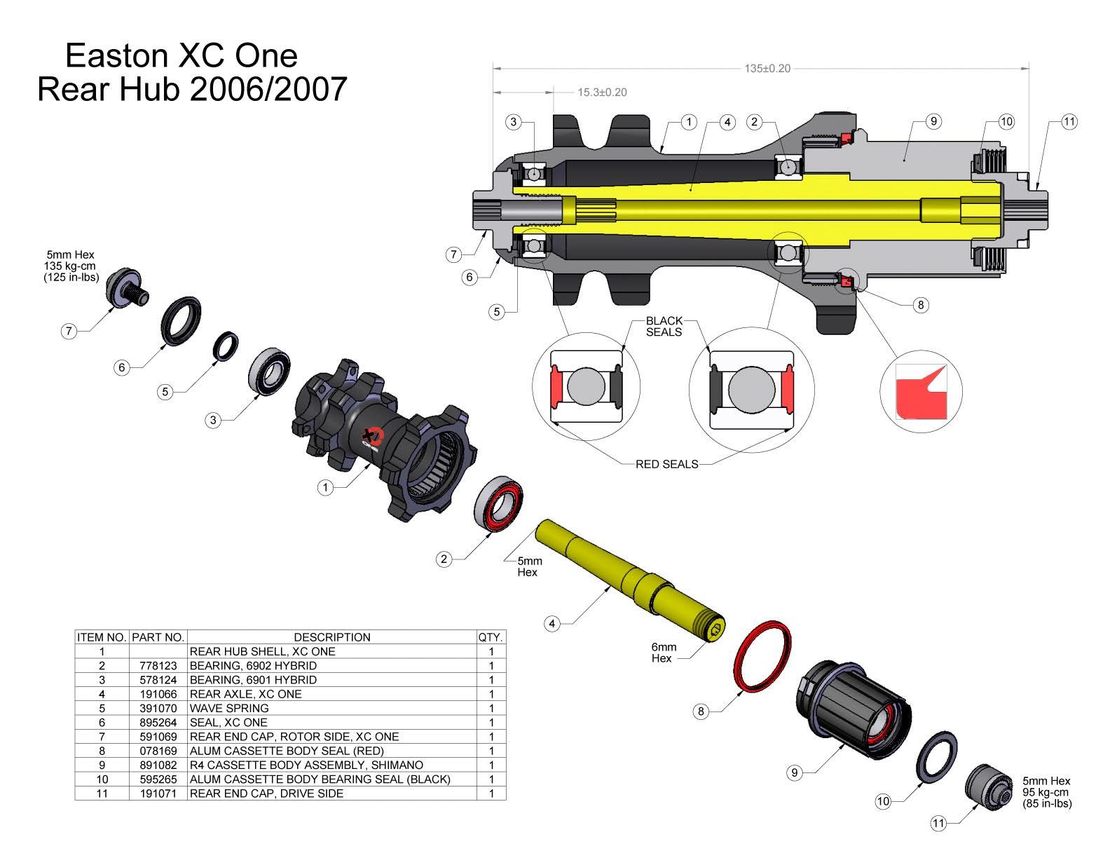 Need help tightening Easton XC One hub- Mtbr com