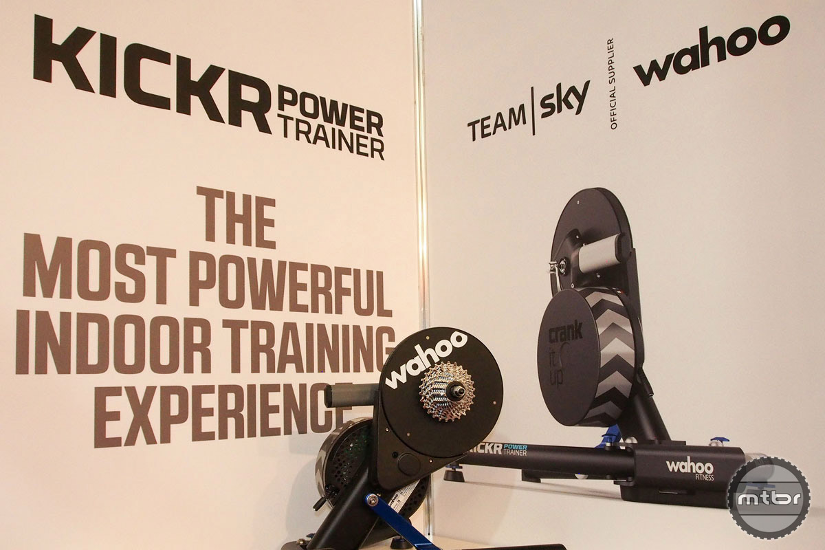 Wahoo has revamped its popular Kickr Power Trainer. Enhancements include more accurate power measuring, reduced noise level, higher gradient simulation that now goes to 20 percent, and 2000 watts max power just in case your last name happens to Greipel, Kittle, or Cavendish.
