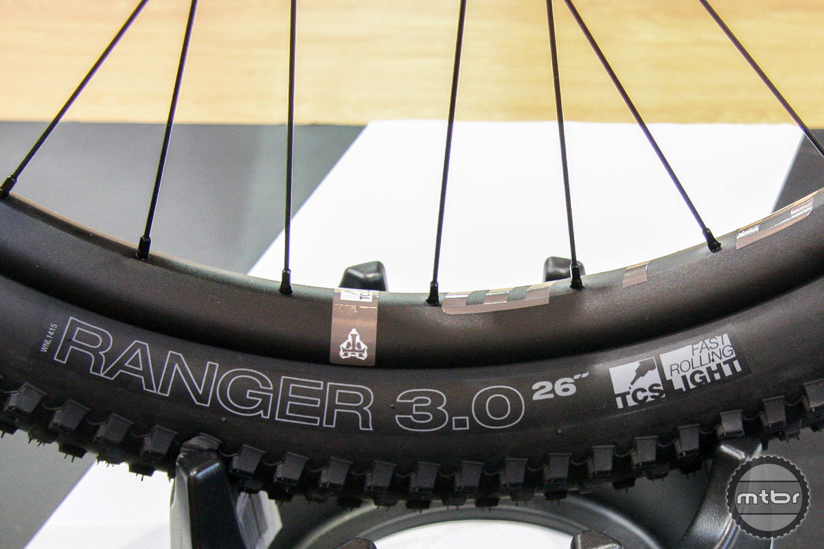 "Yes, ladies and gentleman, we have a new wheel/tire size: 26 plus! Not wanting anyone to feel left out in the plus sized revolution, companies such as WTB are starting to offer plus solutions for standard 27.5 frame owners who don't want to (or cant) add a 29er to the collection. This 26x3.0"" set-up has the same overall diameter as a 27.5 wheel/tire. The new Ranger tire comes in 26x2.8"" and 26x3.0"" and is tubeless ready. You can also get your choice of TCS Tough or TCS Light casing. The pictured 26er rims have a 35mm inner width."