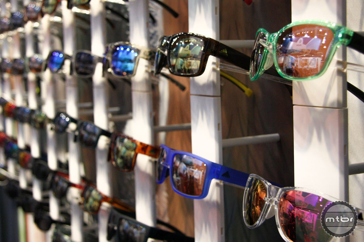 Another brand with a different identity on the other side of the Atlantic. Most North American consumers think of adidas as a footwear maker, but its eyewear collection is massive.