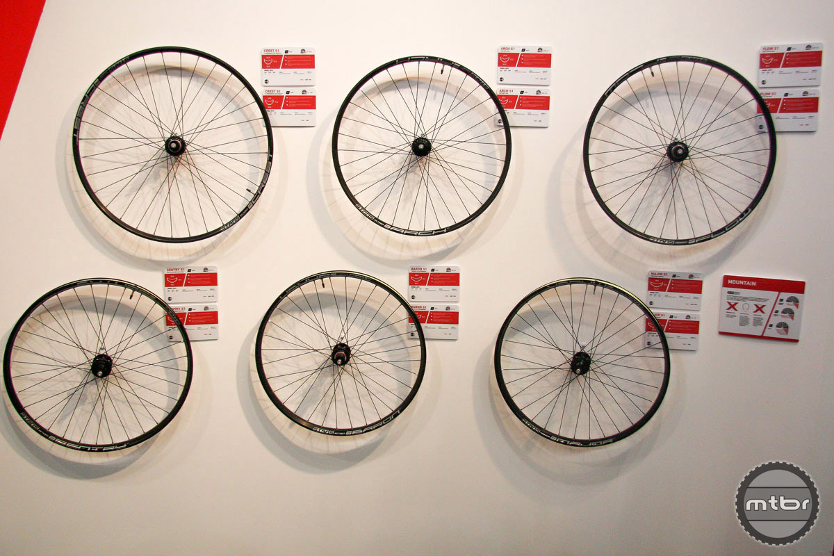 All six of the new alloy wheelsets will sell for $455.