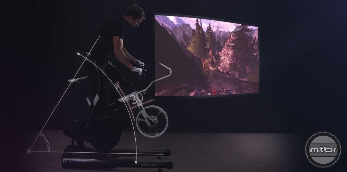 MTB Simulator Bike