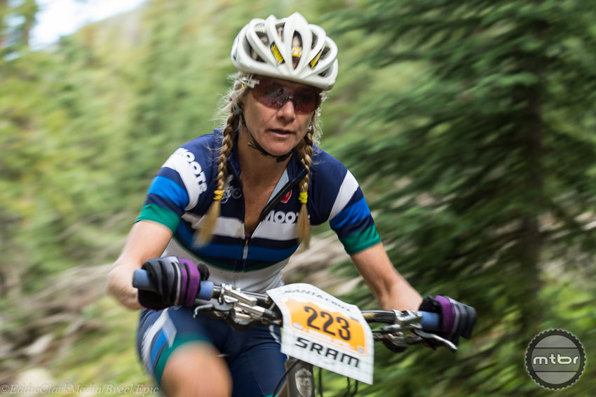 Breck Epic Stage 1<br /> Kelly Keim Boniface