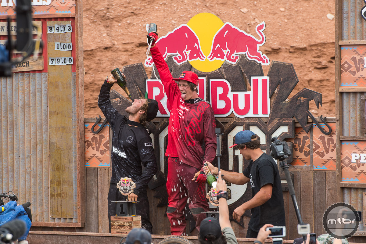 Win No. 2 at Rampage for Semenuk was a long time coming. Photo by Eddie Clark/EddieClarkMedia.com