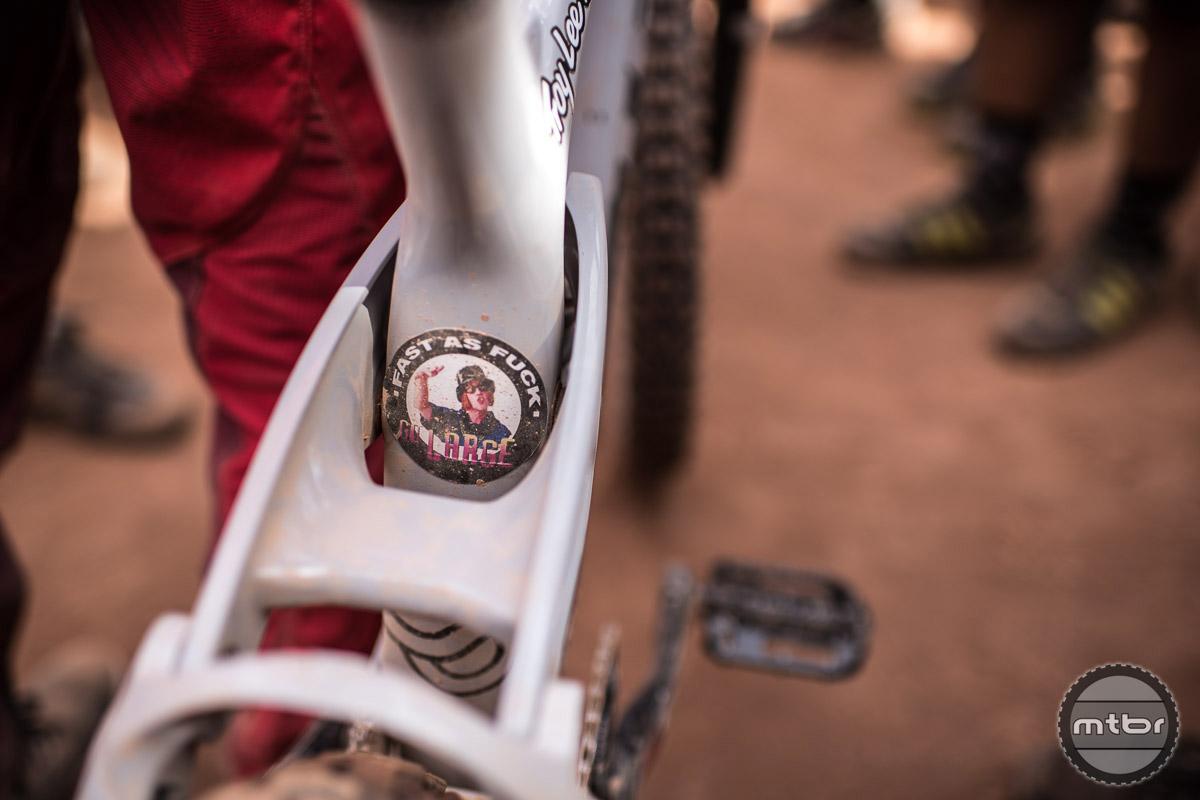 An accurate description of Semenuk's riding style. Photo by Eddie Clark/EddieClarkMedia.com
