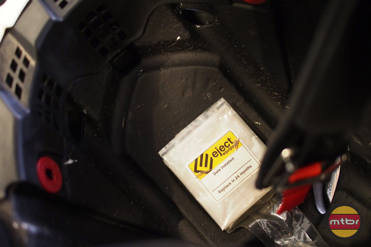 Eject System Air Bag Location