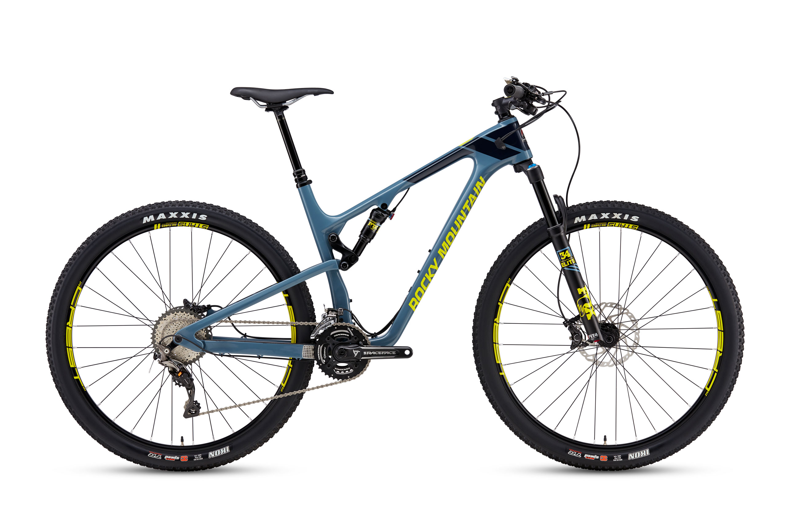 The Element is compatible with 2x drivetrains, but Rocky only spec's one model with this style of drivetrain.