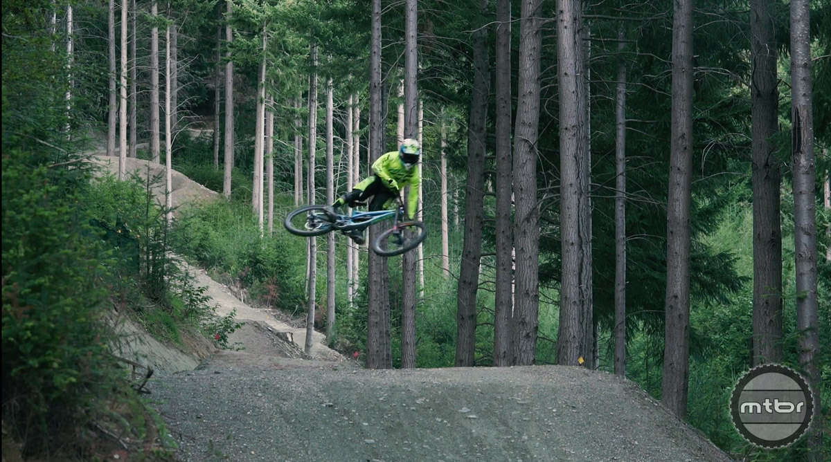 Pivot rider, Eliot Jackson, captures the raw essence of downhill park riding.