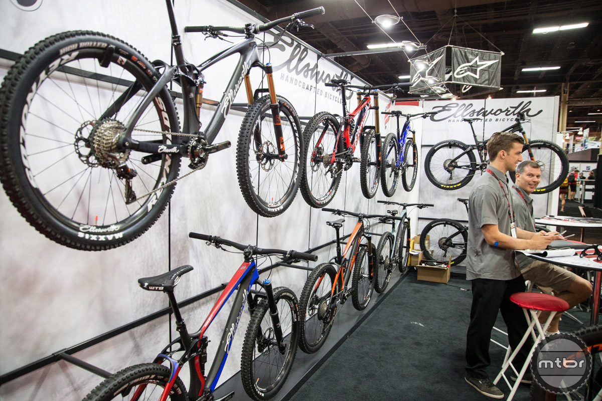 Ellsworth Interbike 2016 Booth