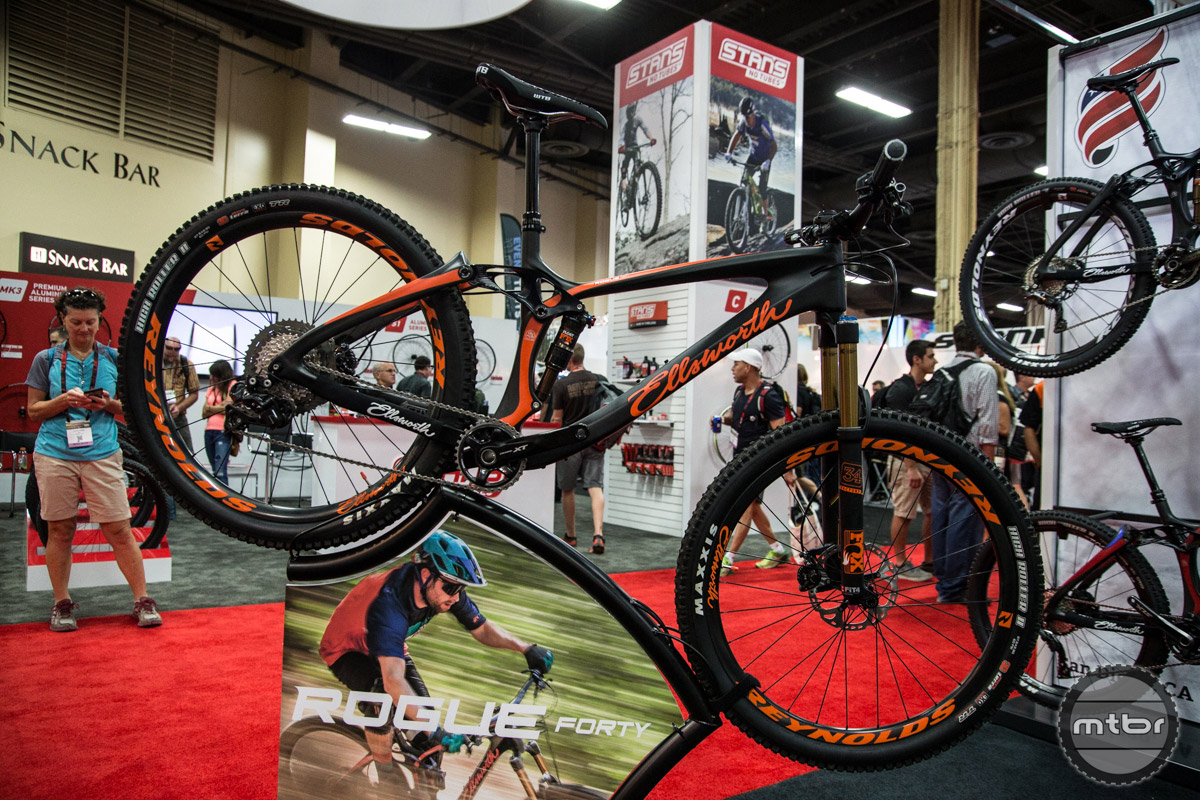 Launched at Interbike, the new Rogue Forty is designed for the XC, enduro racer and weekend warrior.