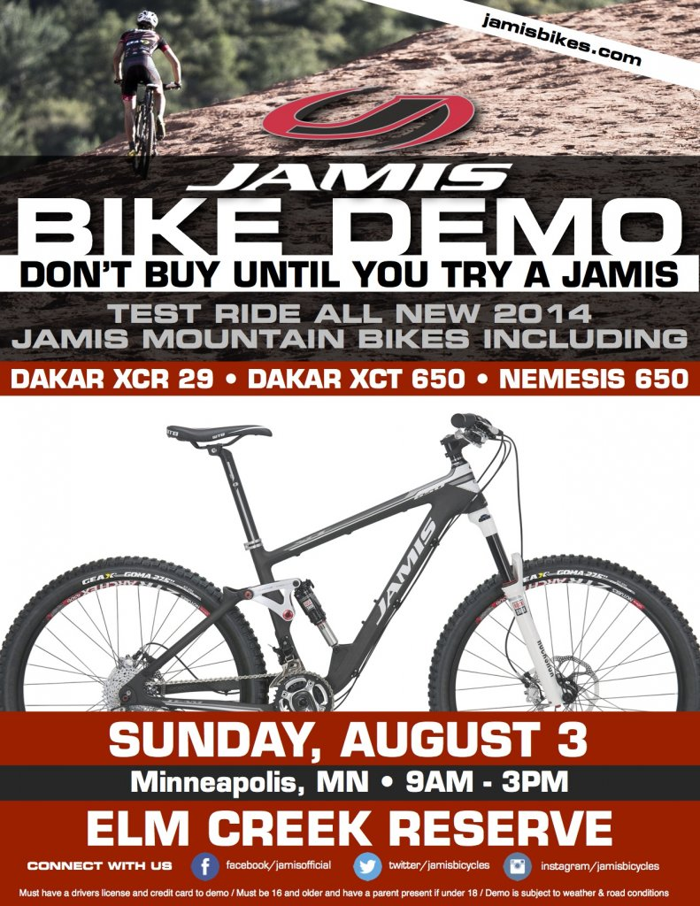 Jamis Bikes 650B/27.5 Demo - Twin Cities Metro-elm-creek-mtn-demo-flyer.jpg