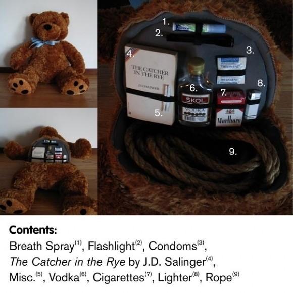 What's in our camelbak?-emergency-teddy-bear.jpg