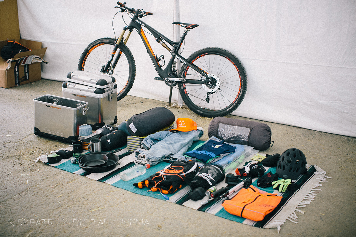 Lots of gear required. Photo by Cole Kirkpatrick