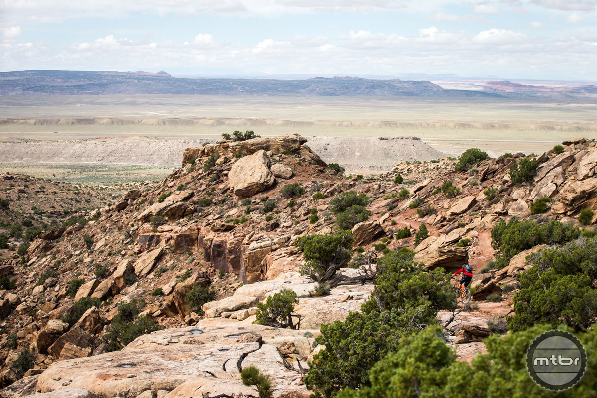 You'd be hard pressed to find a better spot to ride mountain bikes than Moab, Utah. Photo courtesy of Scott Enduro Cup