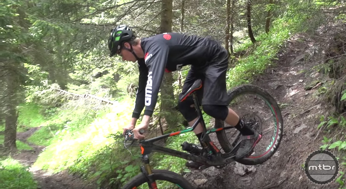 By applying a strategic amount of front brake and twisting your hips, you can gracefully swing your bike around tight switchbacks.