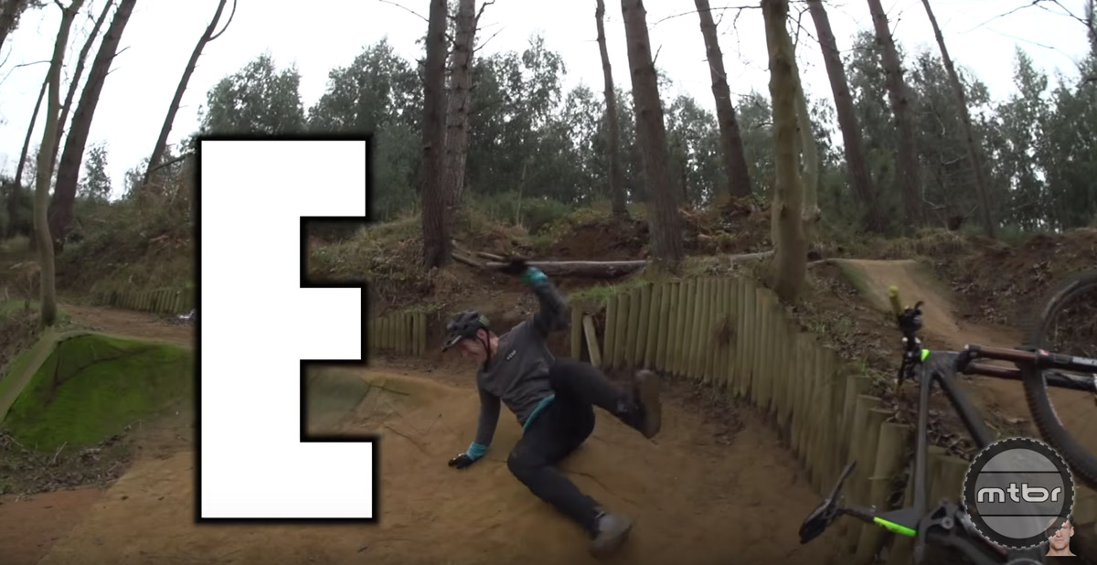 This game resembles H.O.R.S.E., except it's Enduro specific.