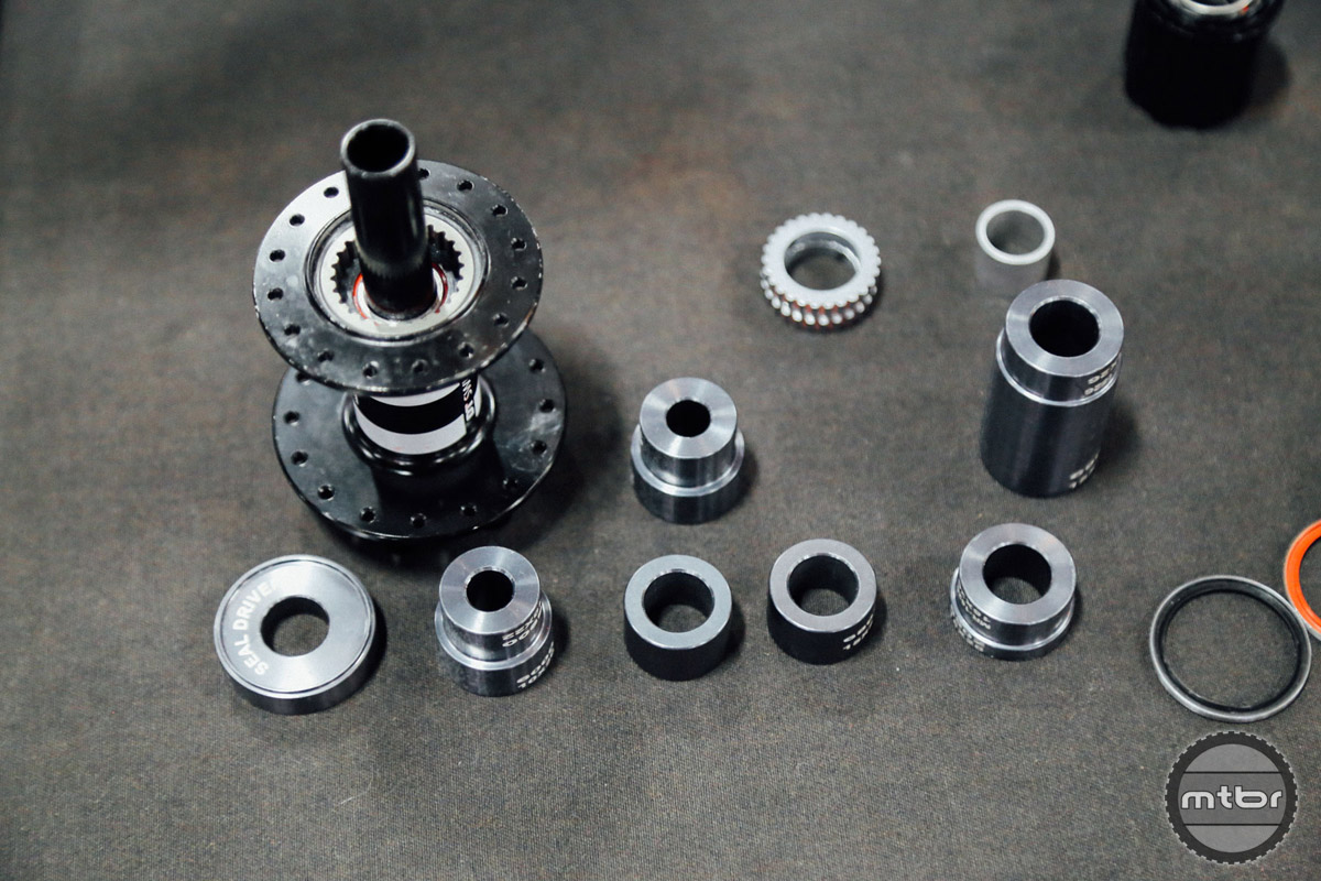 Unlike the stock DT tool, this item from Enduro Bearing will work on any hub that uses DT internals.