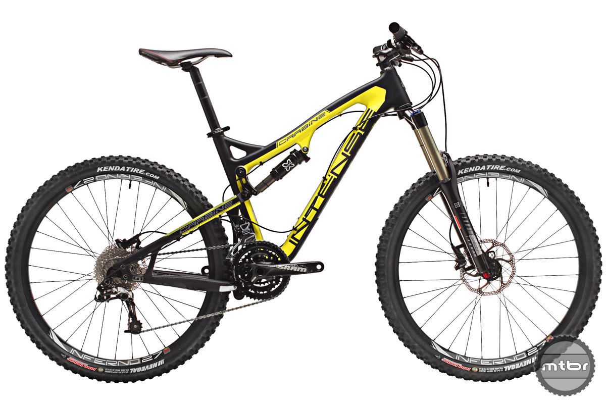 Trail and all-mountain bikes have slacker angles, longer wheelbases, and travel ranging from about 140 to 170 millimeters. Photo courtesy of Art's Cyclery