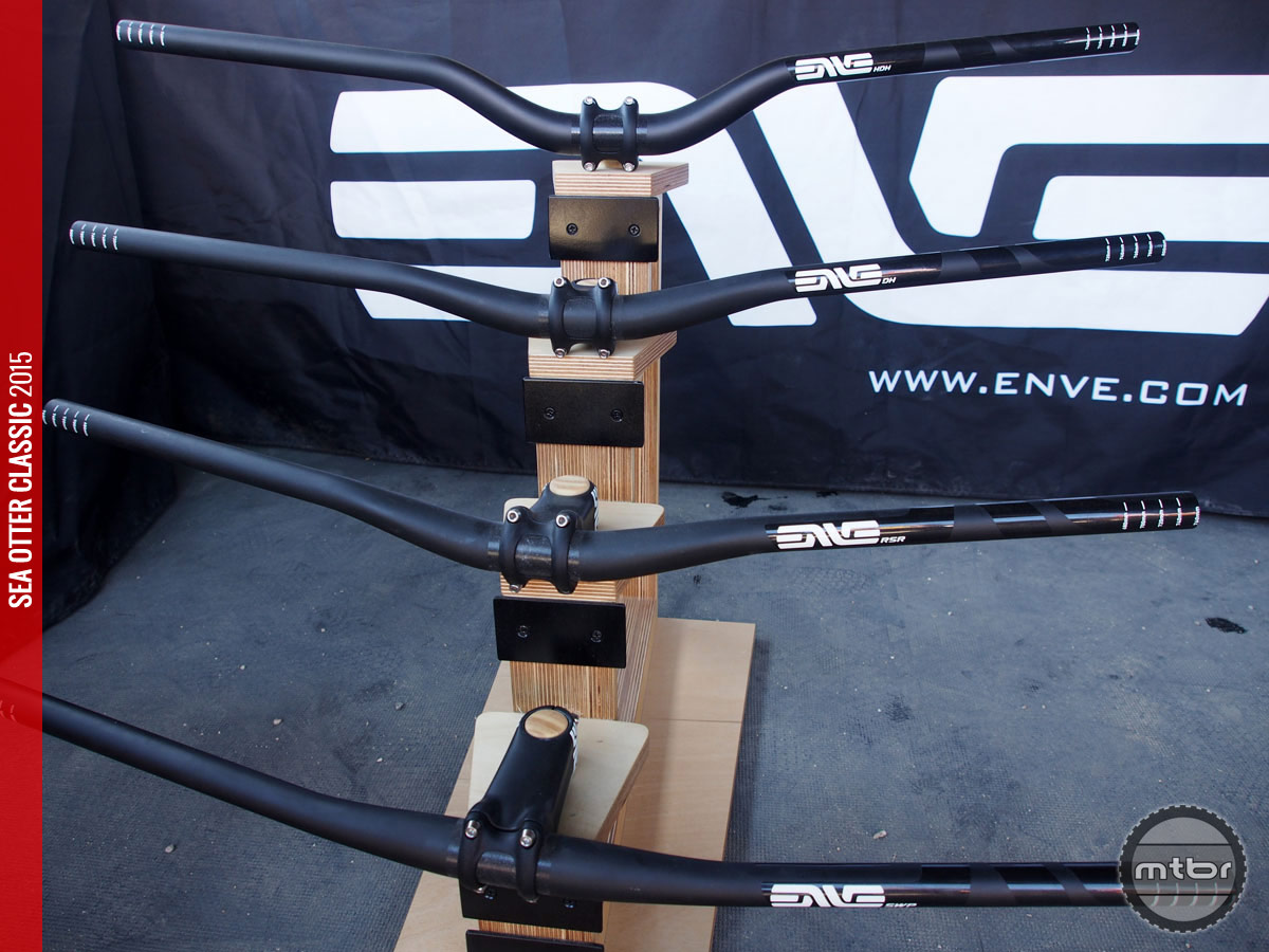 2bbb77ad2c1 Sea Otter: ENVE shows new HDH downhill bar- Mtbr.com