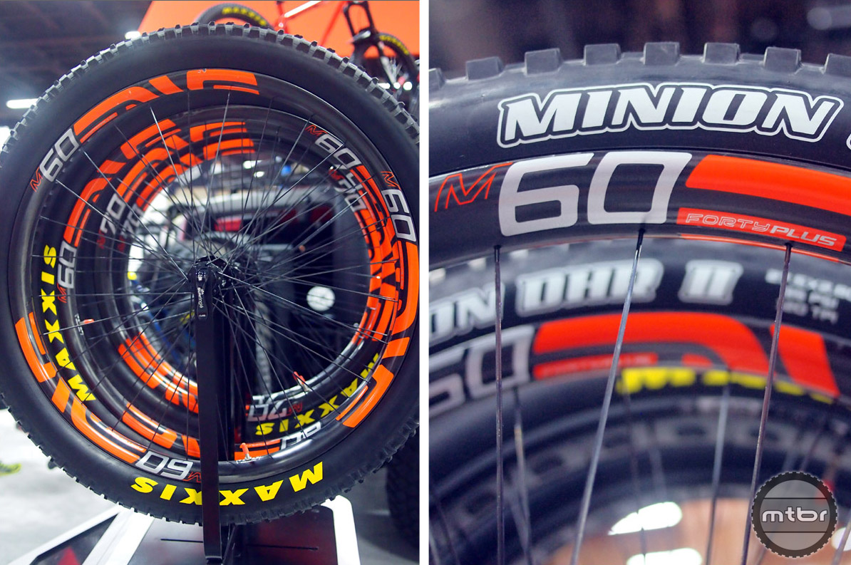 Upgrade your hoops – ENVE introduced their all new M60 Forty Plus carbon plus size wheels at Interbike. Available in 27.5+ or 29+, wide wheels are here to stay.