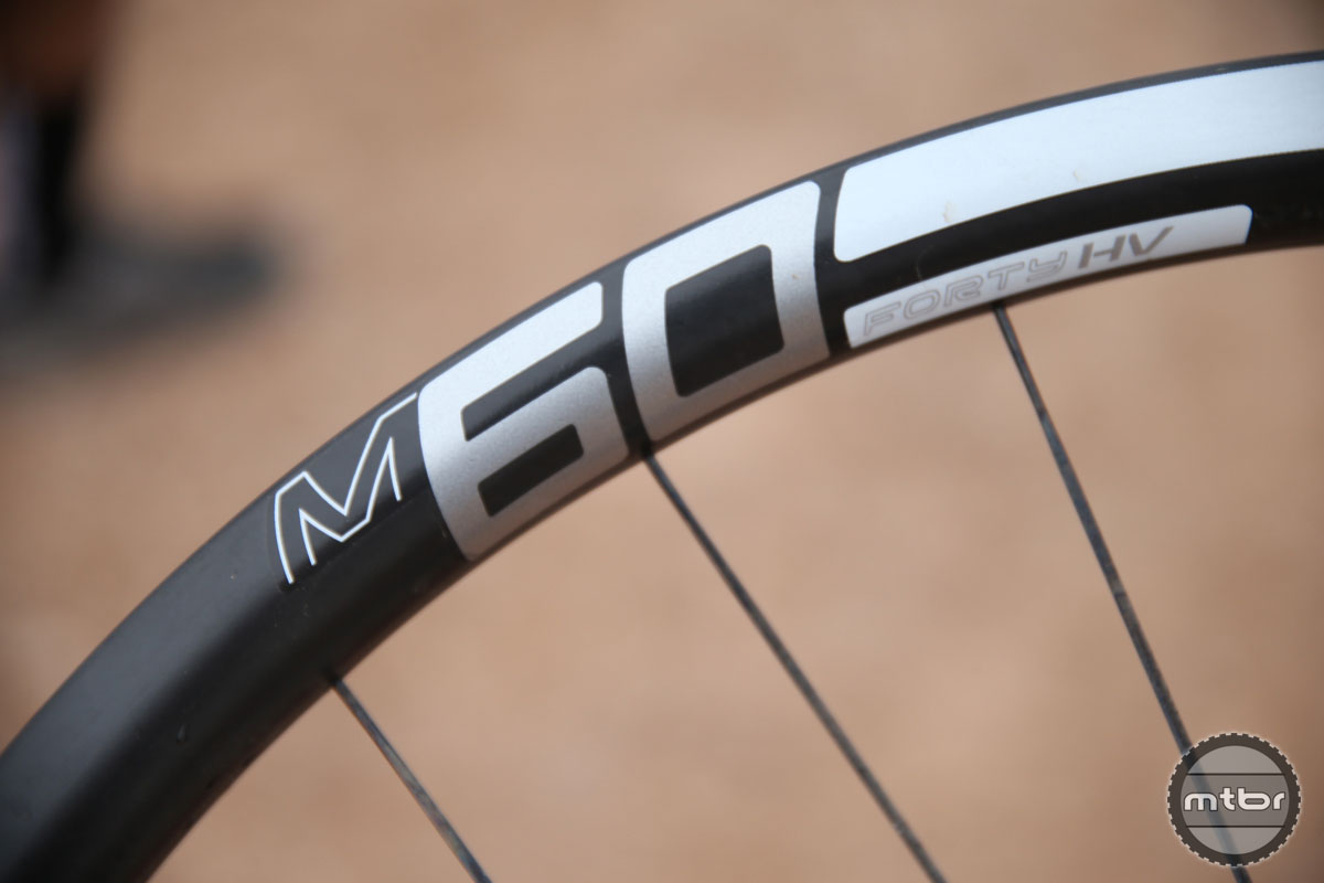The new HV rim (as in high volume) designates ENVE rims that are 2mm wider than standard.