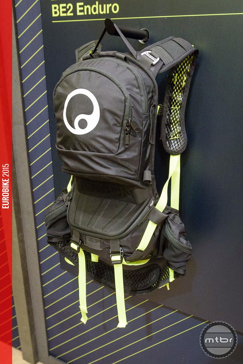 Limited edition Laser Lemon on the BE2 enduro backpack.
