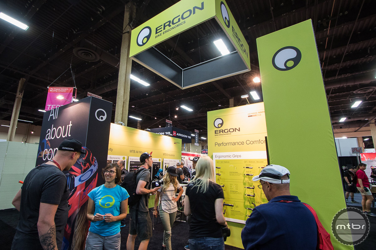 Ergon Interbike 2016 Booth