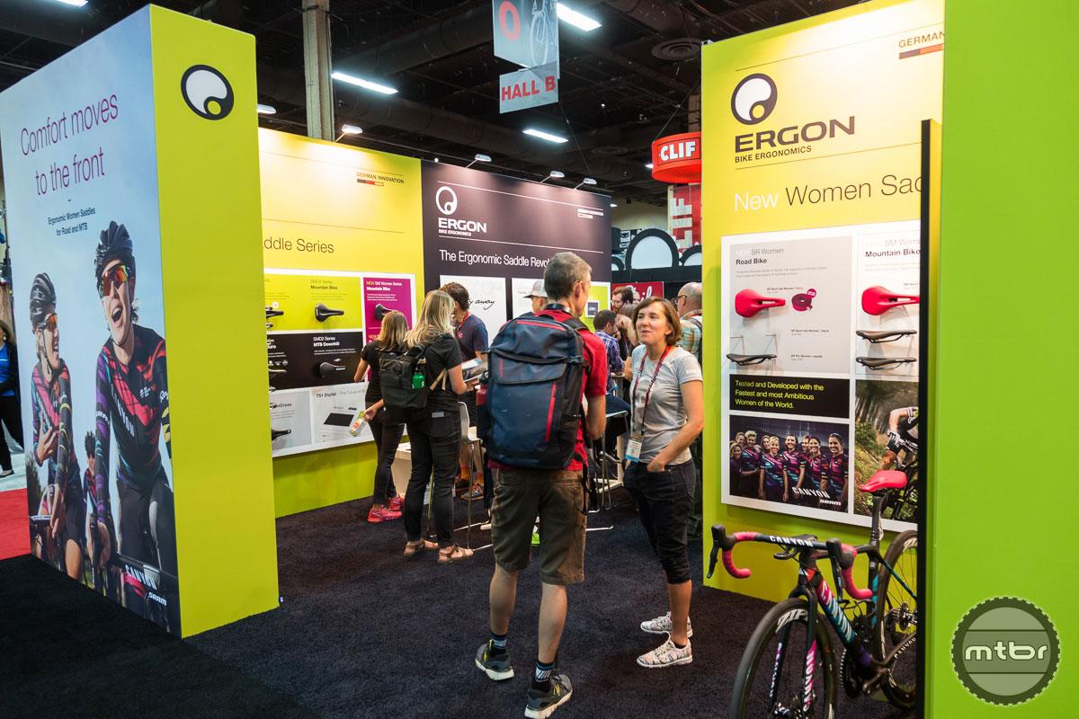 Ergon Interbike 2017 Booth