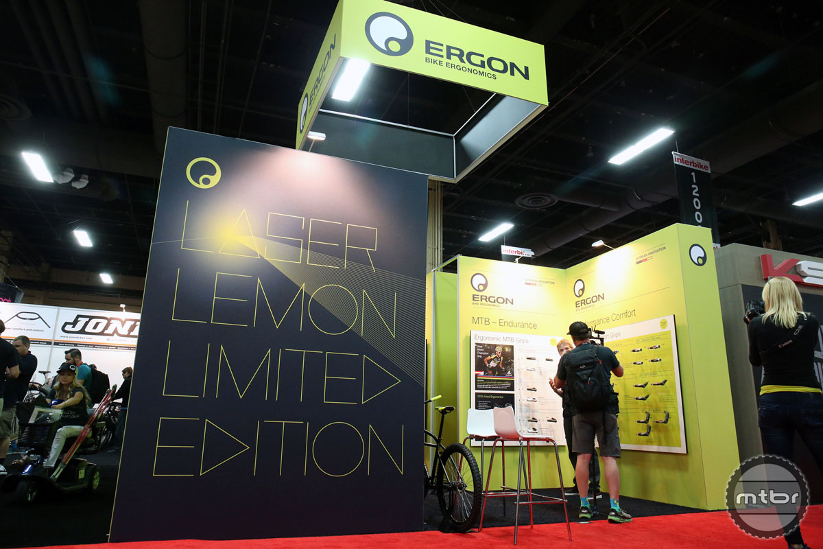 Ergon Interbike 2015 Booth
