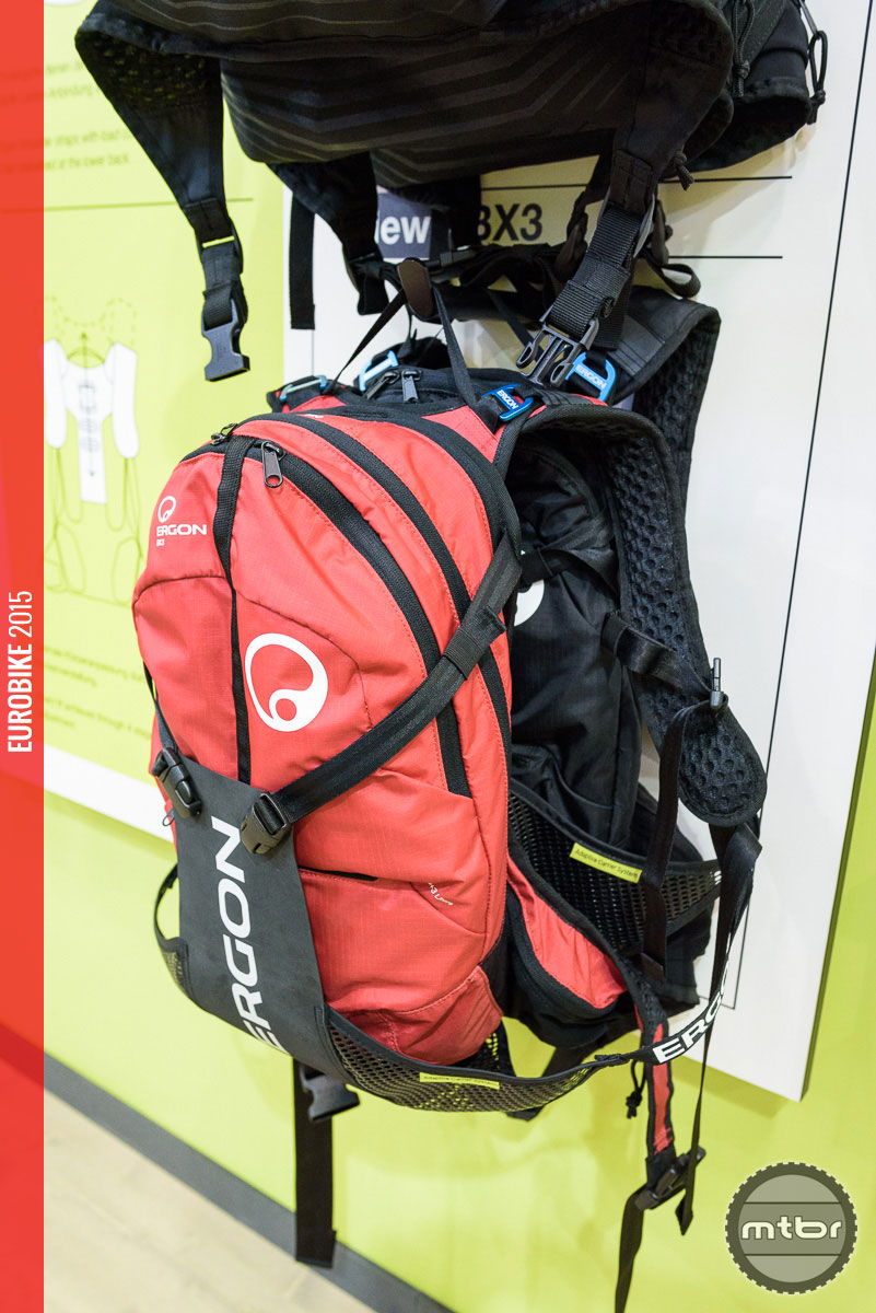 The upgraded BX3 backpack.